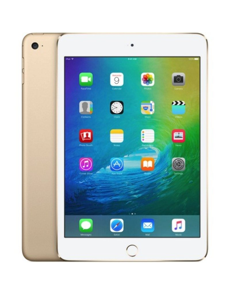 Apple Apple iPad mini 4 Wi-Fi + Cellular 128GB - Gold (Apple SIM) MK8F2LL/A