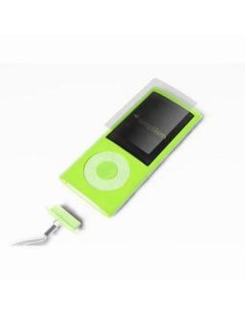 Simplism Silicone Case for iPod Nano (5th)-Green