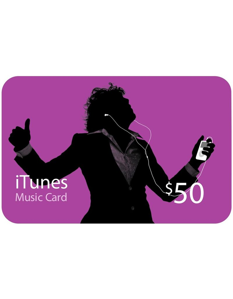 Apple Apple iTunes Gift Card ‐ Silhouette ‐ $50 <br />M9951LL/C