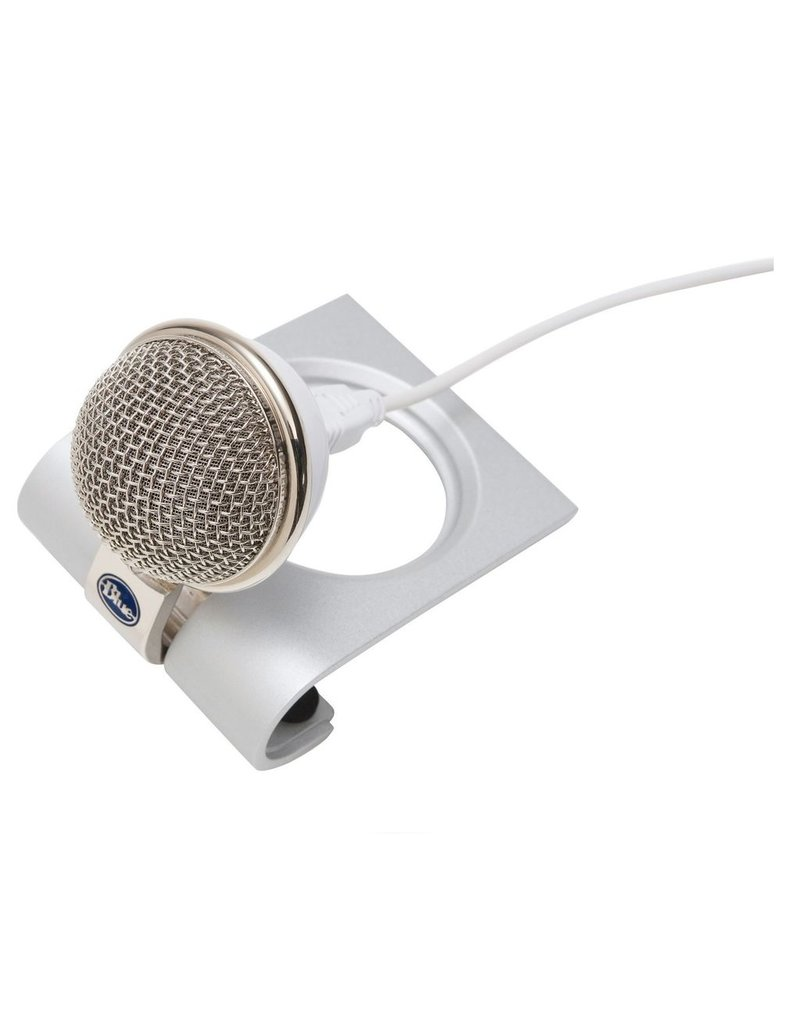 Blue Blue Snowflake Portable USB Microphone