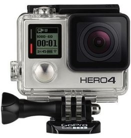 GoPro GoPro HERO4 CHDHY-401 Digital Camcorder - Full HD - Silver