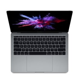 """Apple MacBook Pro 13"""" 2.0GHz dual-core Intel Core i5 processor Turbo Boost up to 3.1GHz 256GB PCIe-based SSD1 8GB 1866MHz memory Intel Iris Graphics 540<br /> Two Thunderbolt 3 ports - Space Gray"""