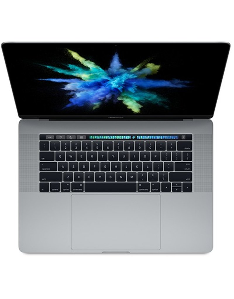Apple 15-inch MacBook Pro with Touch Bar: 2.8GHz quad-core i7, 16GB RAM, 256GB - Space Gray