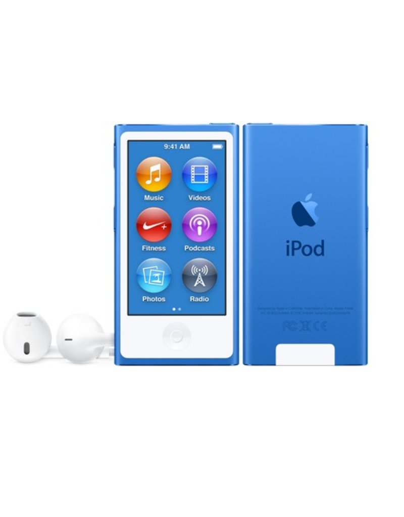 Apple iPod nano 16GB Blue - MKN02LL/A