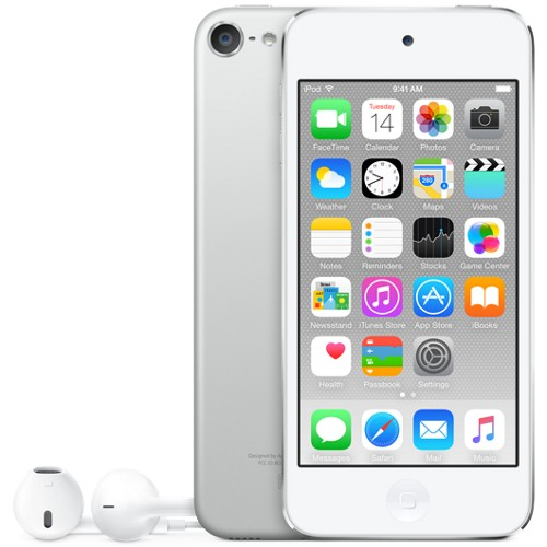 Apple iPod touch 64GB Silver - MKHJ2LL/A