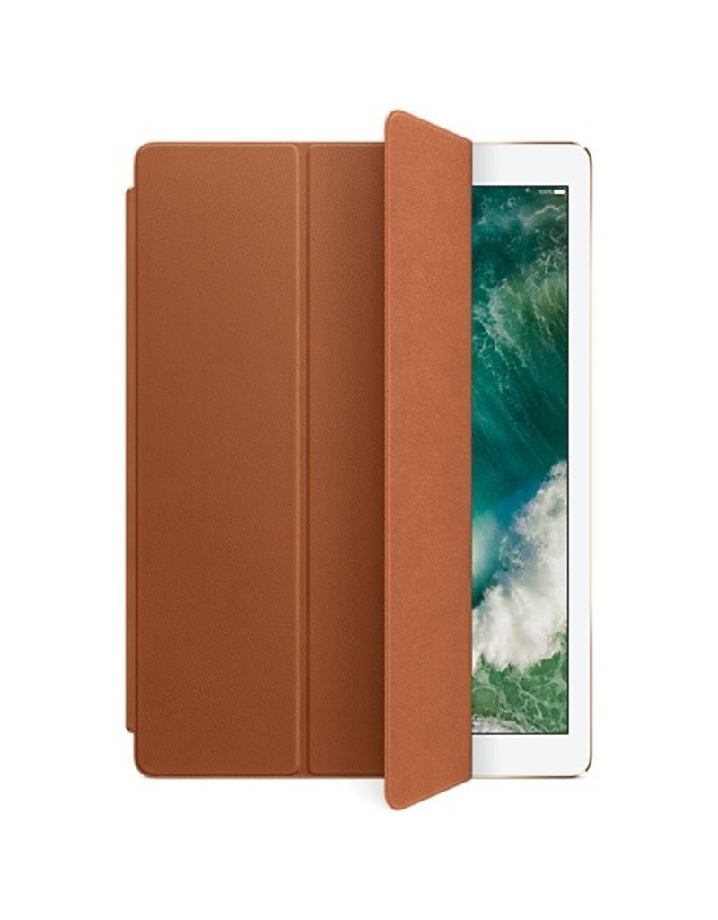 Apple Leather Smart Cover for 12.9-inch iPad Pro - Saddle Brown - MPV12ZM/A