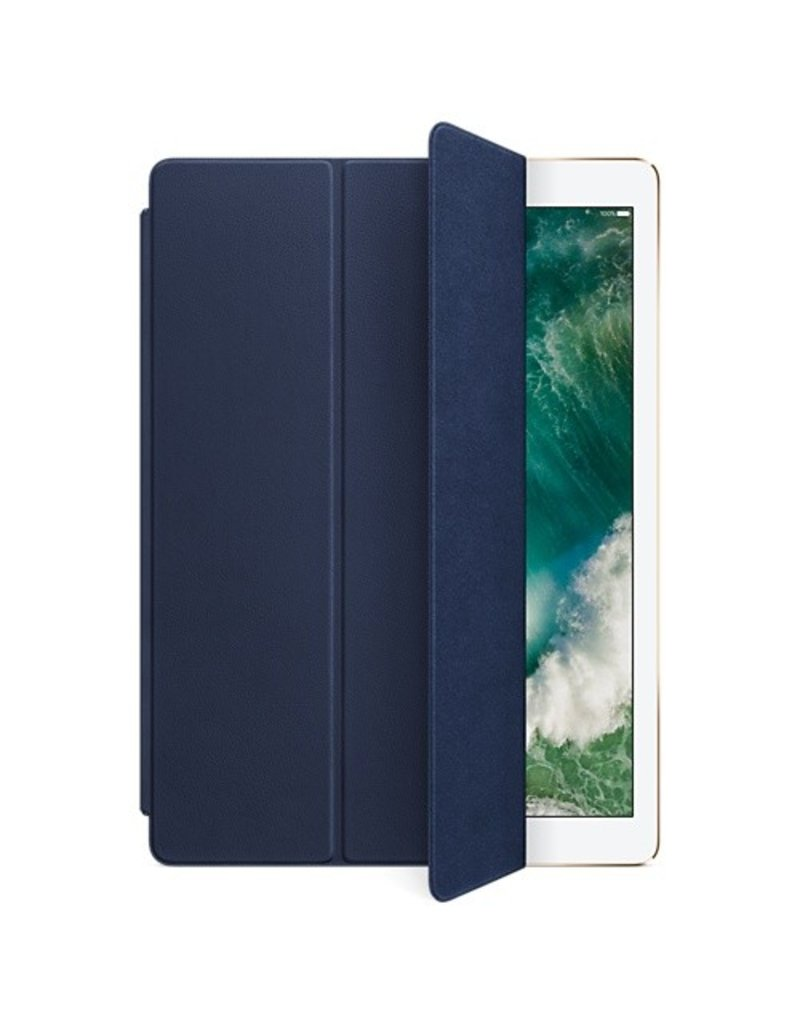Apple Leather Smart Cover for 12.9-inch iPad Pro - Midnight Blue - MPV22ZM/A