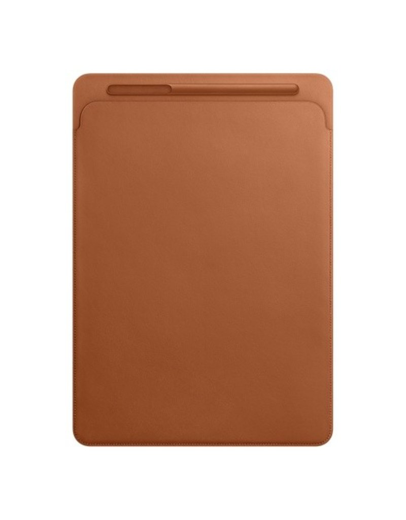 Apple Leather Sleeve for 12.9-inch iPad Pro - Saddle Brown - MQ0Q2ZM/A