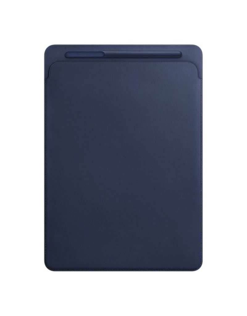 Apple Leather Sleeve for 12.9-inch iPad Pro - Midnight Blue - MQ0T2ZM/A