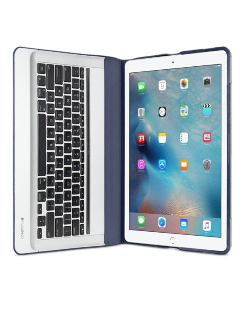 Apple Logitech CREATE Backlit Keyboard Case for iPad Pro - Blue - HJDY2VC/A