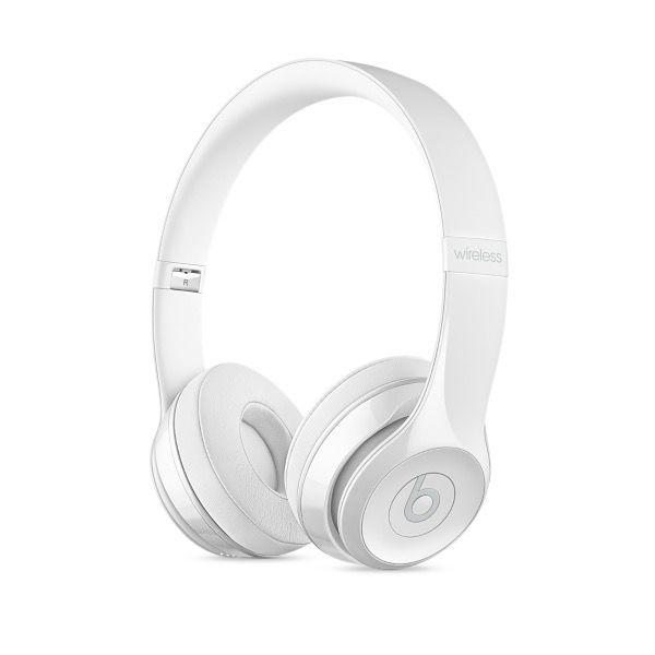 Apple Beats Solo3 Wireless On-Ear Headphones - Gloss White