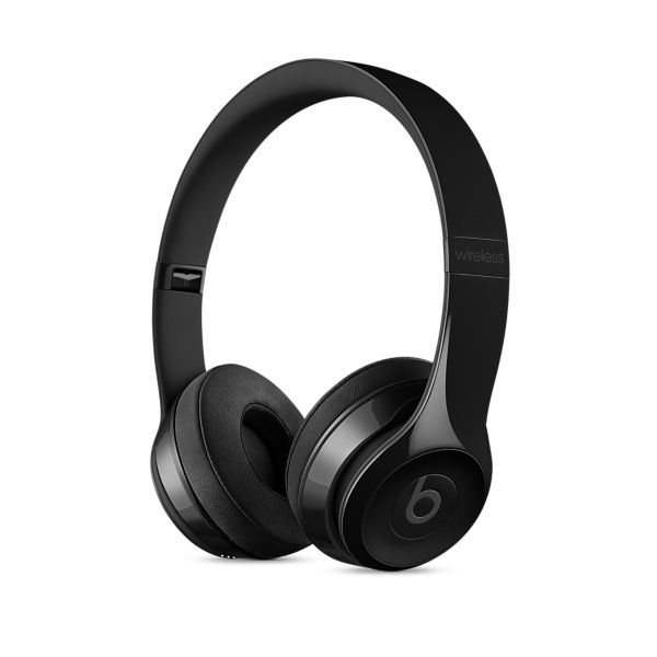 Apple Beats Solo3 Wireless On-Ear Headphones - Gloss Black