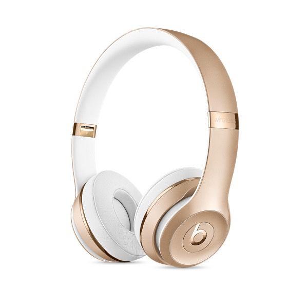 Apple Beats Solo3 Wireless On-Ear Headphones - Gold