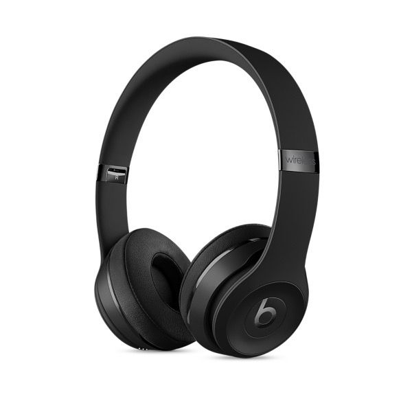 Apple Beats Solo3 Wireless On-Ear Headphones - Matte Black