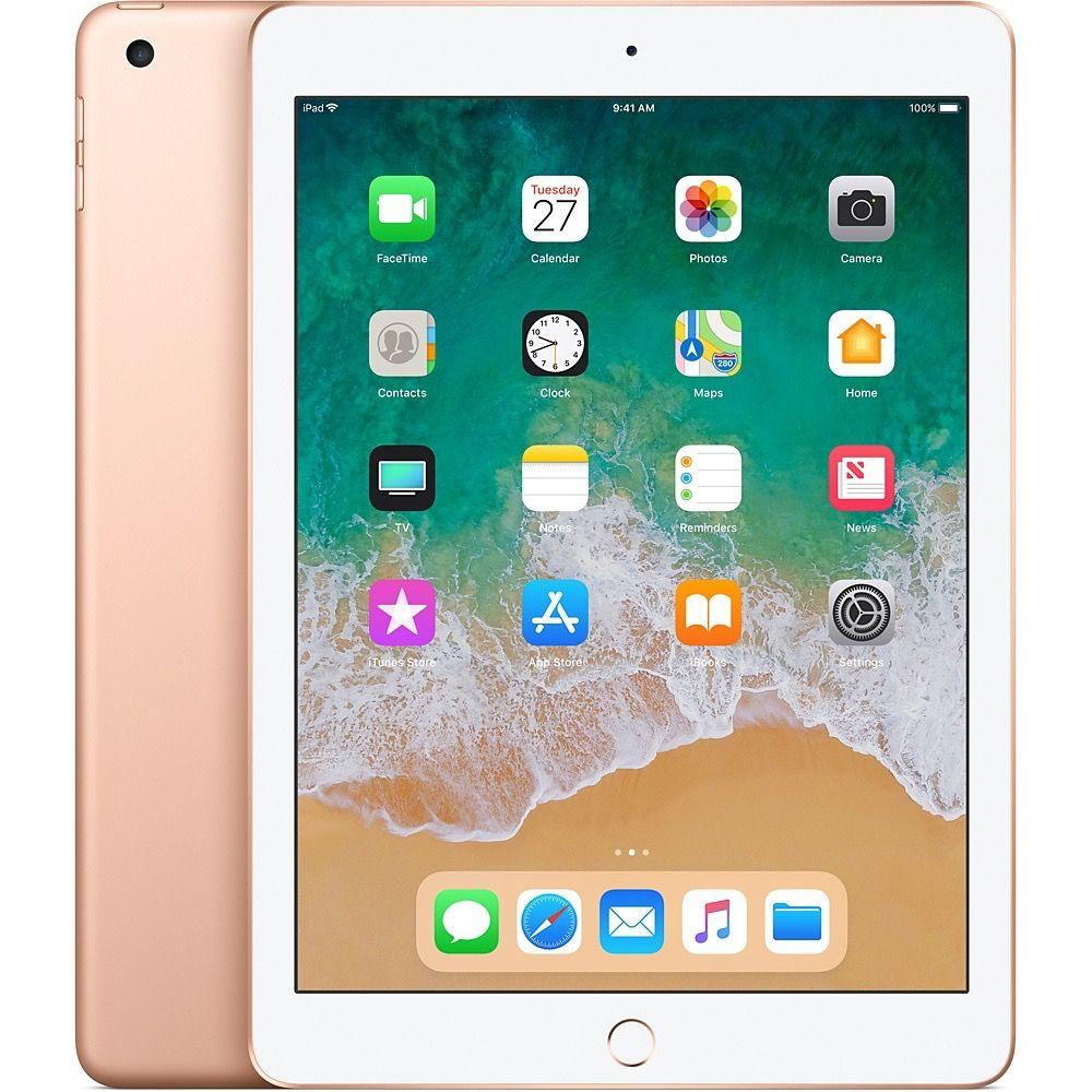 Apple iPad Wi-Fi + Cellular for Apple SIM 128GB - Gold