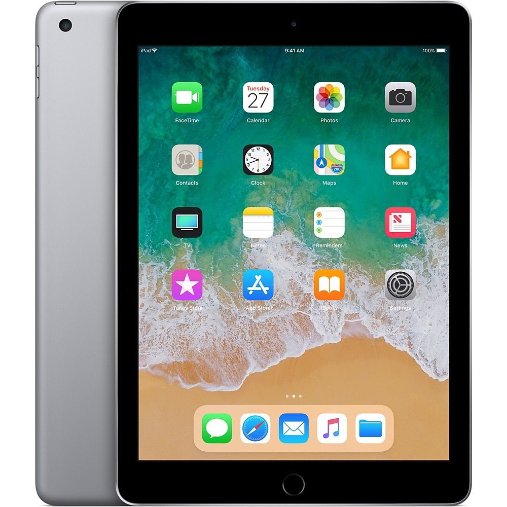 Apple iPad Wi-Fi + Cellular for Apple SIM 128GB - Space Gray