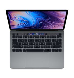 Apple 13-inch MacBook Pro with Touch Bar: 2.3GHz quad-core 8th-generation Intel Core i5 processor, 256GB - Space Gray