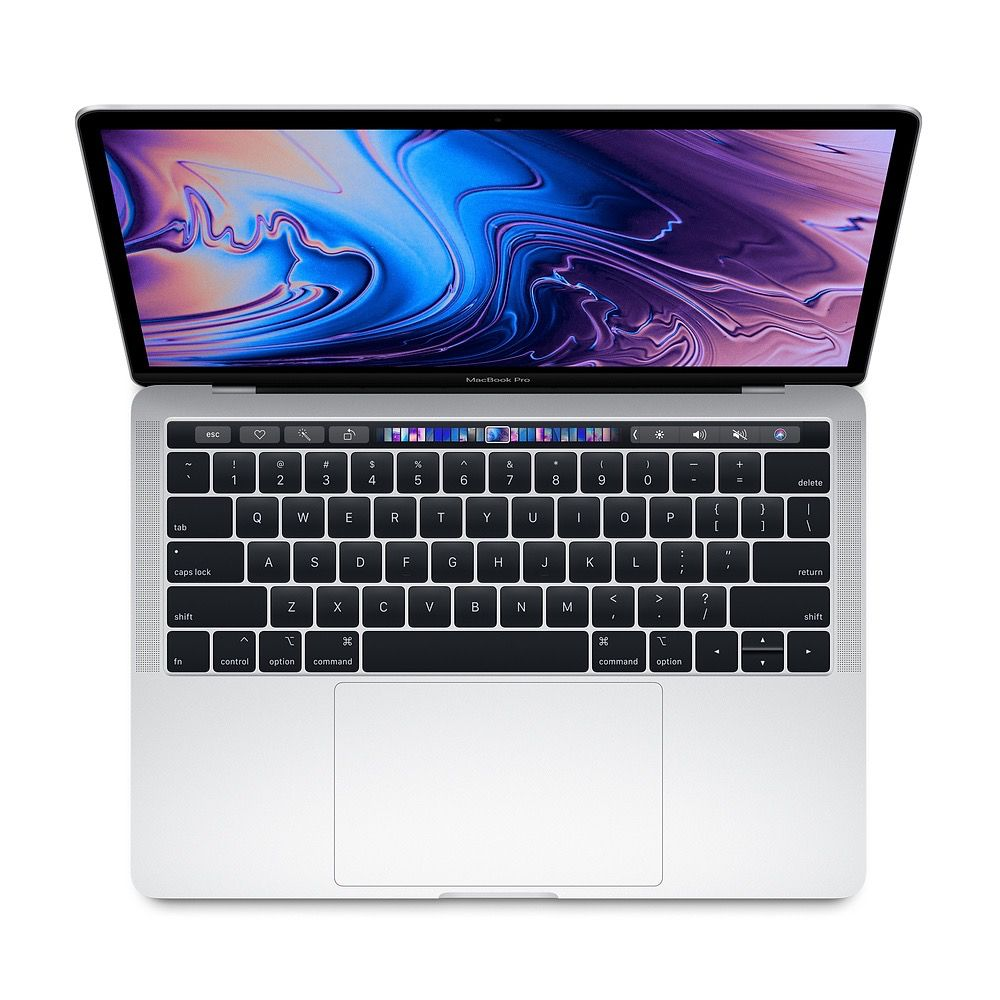 Apple 13-inch MacBook Pro with Touch Bar: 2.3GHz quad-core 8th-generation Intel Core i5 processor, 256GB - Silver