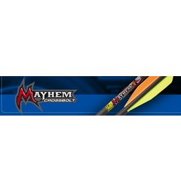 "Carbon Express CX Mayhem XBow 22"" Bolt 6pk"