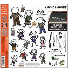 CamoWraps Family Decal Set