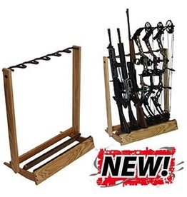 Hold Up Hardwood Bow Stand