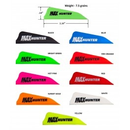 AAE MAX HUNTER<br /> <br /> &quot;Max Hunter&quot; is a high-profile hunting vane that produces great broadhead flight.