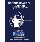 Urban Archery George Ryals Seminar Melbourne  2018