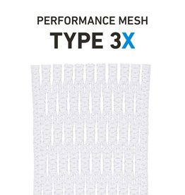 String King Type 3X White Lacrosse Mesh