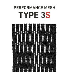 String King Type 3S Black Lacrosse Mesh