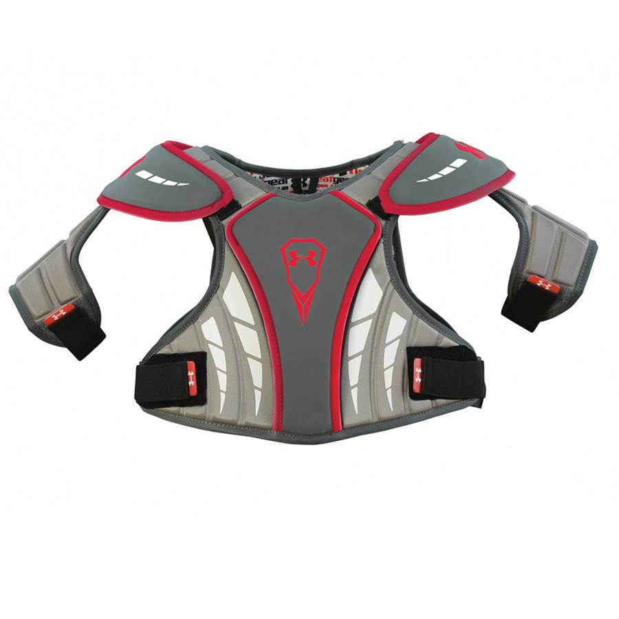 Under Armour Strategy Extra Large Grey Shoulder Pads