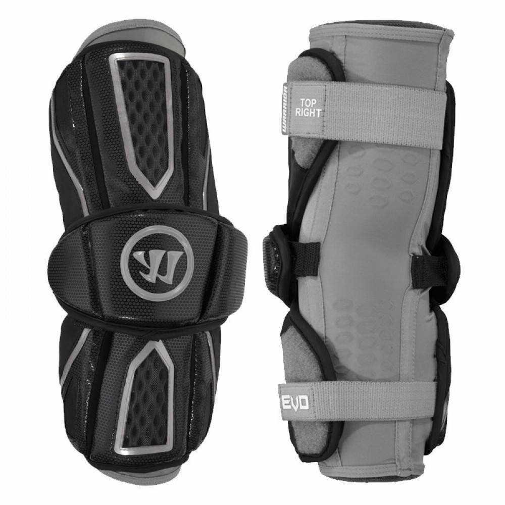 Warrior Evo Pro Medium Black Arm Guard