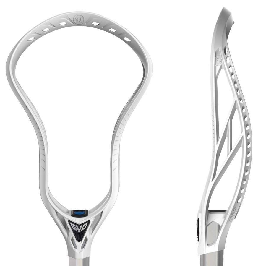 Warrior Warrior Evo 5 X White Unstrung Lacrosse Head