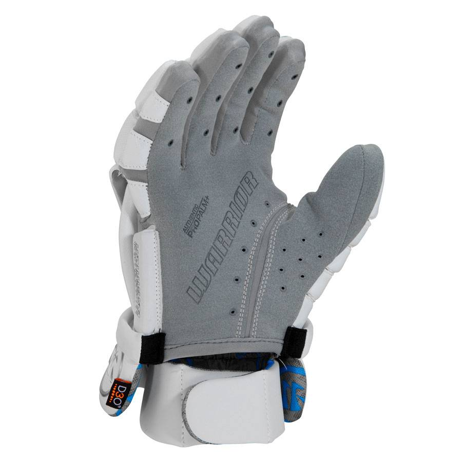 Warrior Evo Pro Lacrosse Glove White Large