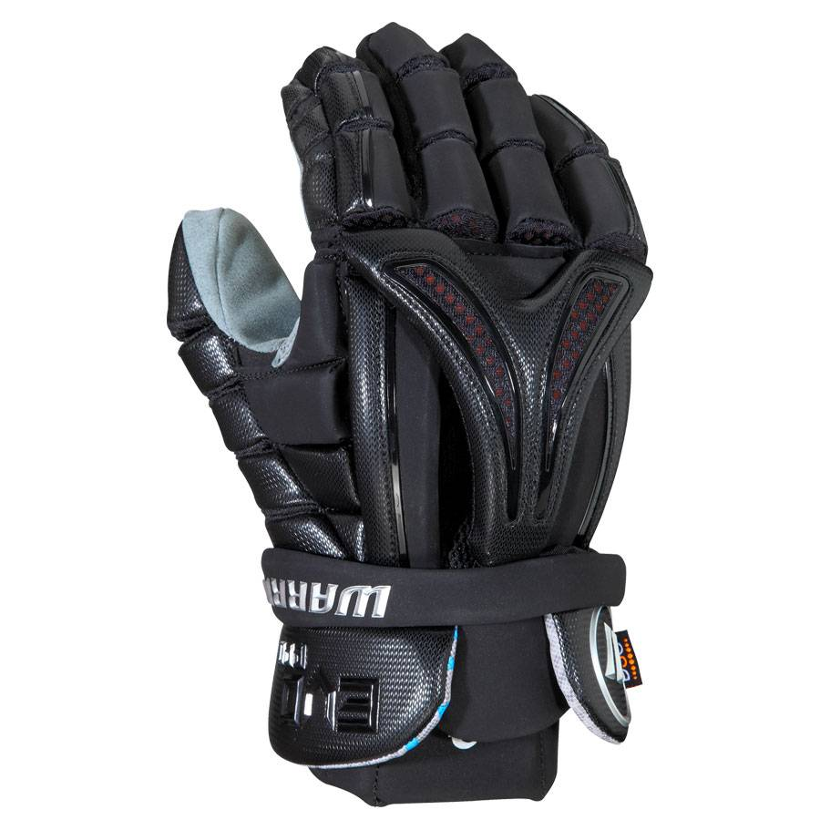 Warrior Evo Pro Lacrosse Glove Black Medium