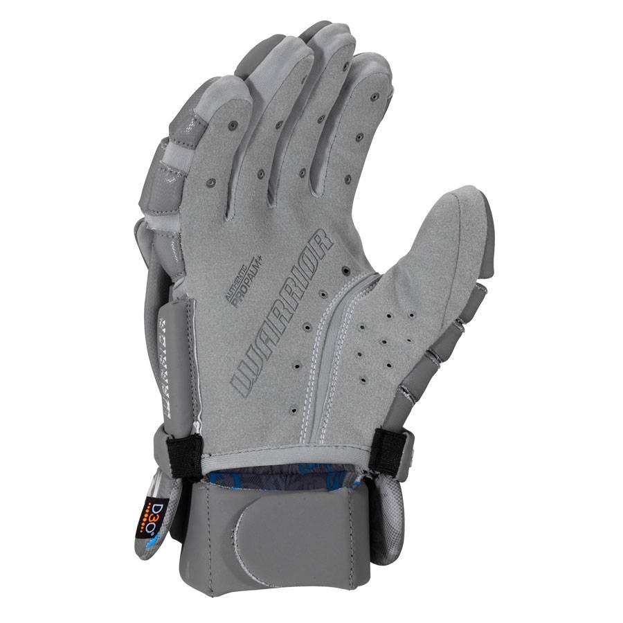 Warrior Evo Pro Lacrosse Glove Grey Medium
