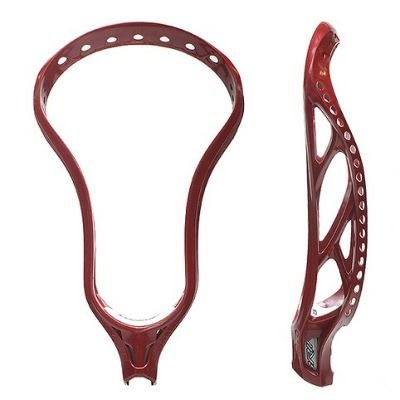 Brine Brine Clutch X Red Unstrung Lacrosse Head