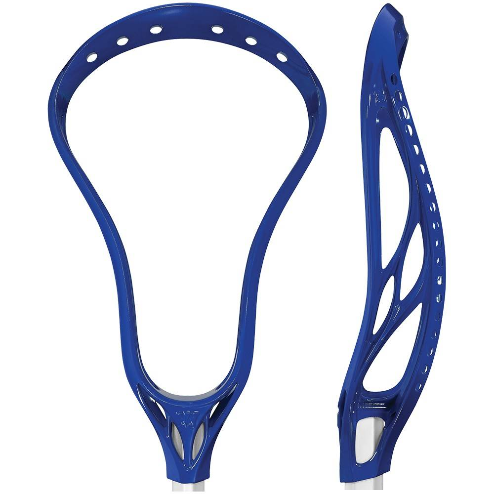 Warrior Evo 4 HS Royal Unstrung Lacrosse Head