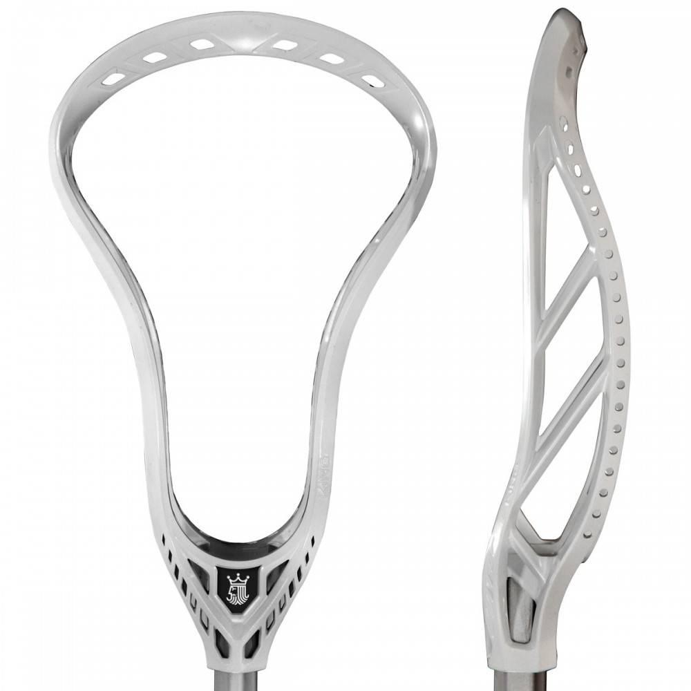 Brine King HS White Unstrung Lacrosse Head