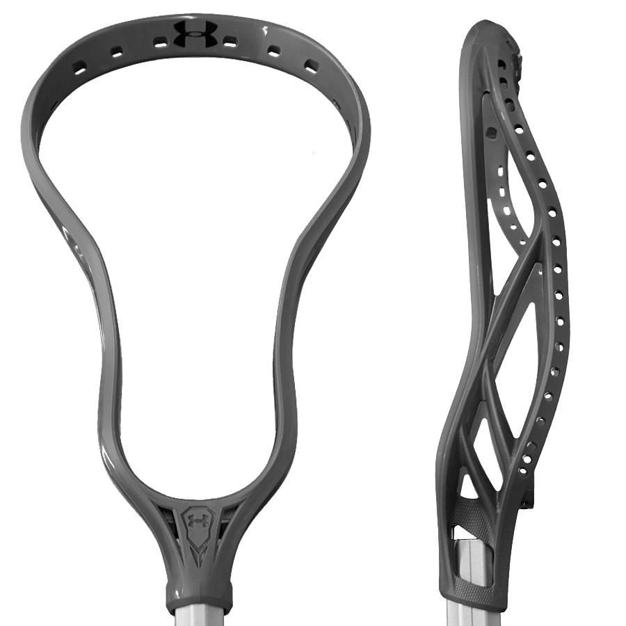Under Armour Command Box Grey Unstrung Lacrosse Head