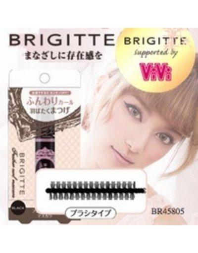 BRIGITTE 日本最新限量販售-日雜 VIVI-蘿菈代言 BRIGITTE 睫毛膏 BR45805