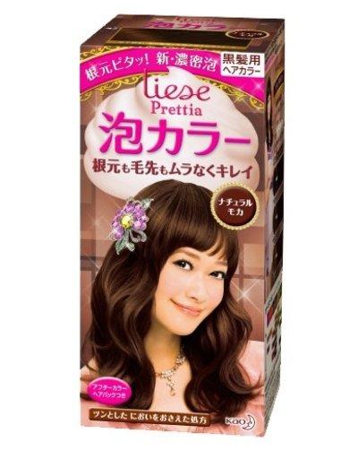 KAO花王 花王Prettia泡沫染髮膏自然摩卡