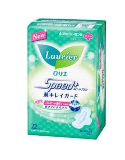KAO花王 花王樂而雅日用衛生巾(護翼型)20.5cm 22片