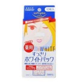 KOSE Kose 女性鼻用淨白清潔貼布10枚入