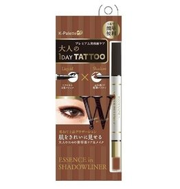 K-PALETTE K﹣Palette 1 Day Tattoo 眼線眼影兩用筆 #Pink Brown X Nude