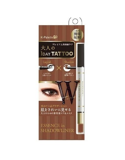 K-PALETTE K﹣Palette 1 Day Tattoo 眼線眼影兩用筆 #Pink Brown X Nude