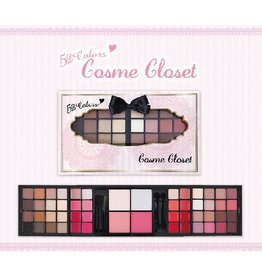 OTHERS 52 colors cosme closet eye shadow  lip&cheek face color 眼唇多用色盤