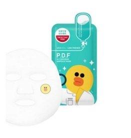 MEDIHEAL Mediheal x LINE Friends P.D.F Ampoule Mask PDF舒緩面膜單片