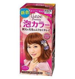 KAO花王 花王Prettia泡沫染髮膏优雅蜜桃粉棕