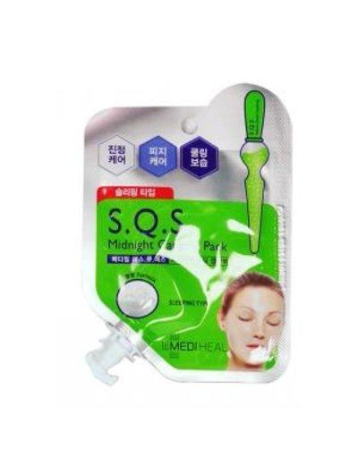 MEDIHEAL Mediheal SQS深層淨化平衡舒緩晚安面膜
