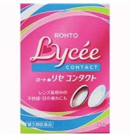 ROHTO Lycee小紅花隱形眼鏡專用眼藥水
